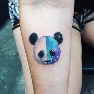 Cosmic Panda Tattoo